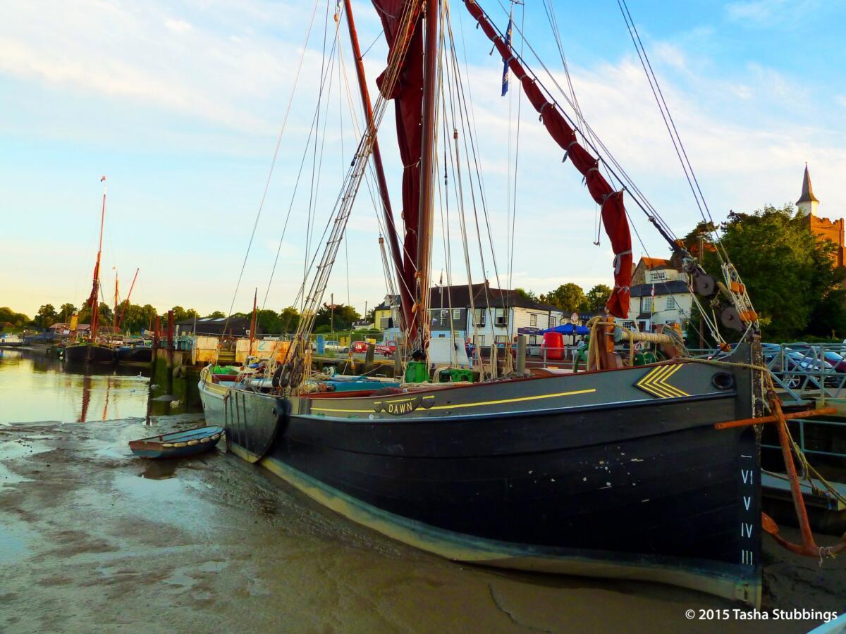 Barge Dawn